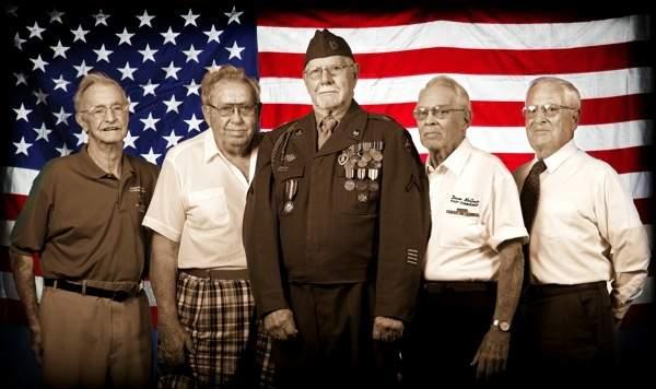 World War II veterans now residing in Lakeland, Florida.